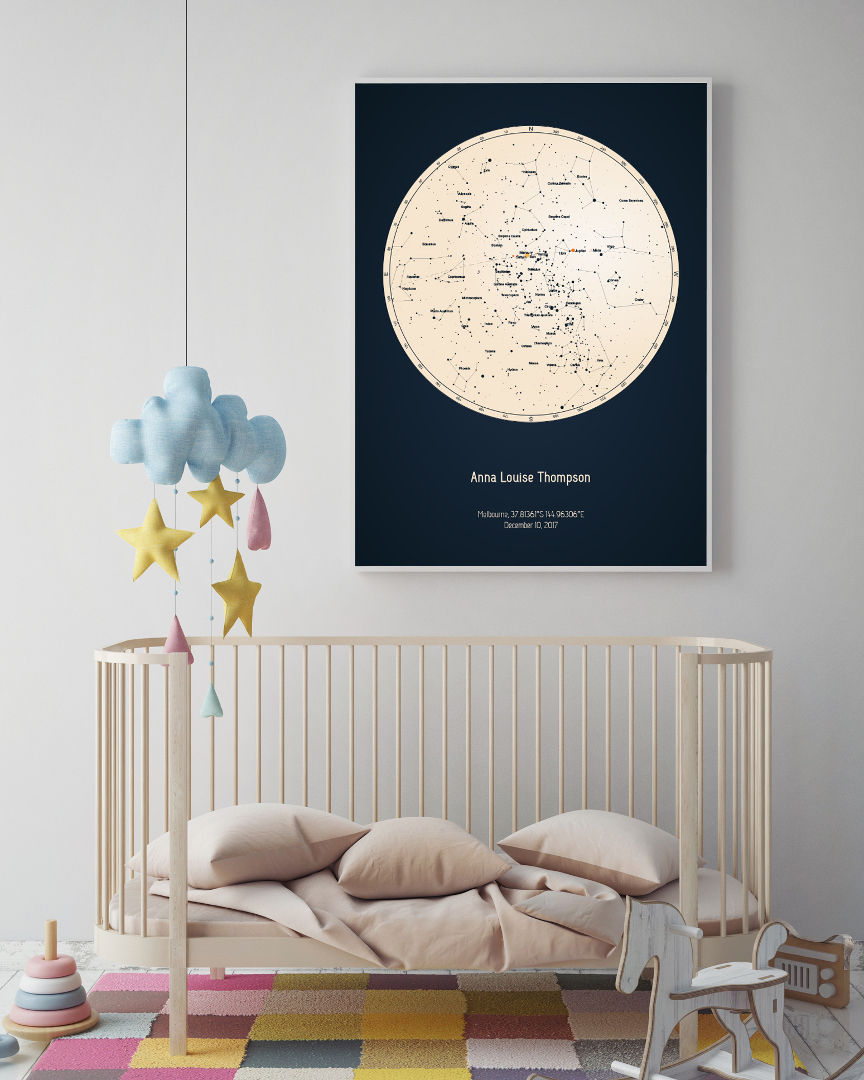 ✨Strellas: Personalized Star Charts, Poster of Your Star Map